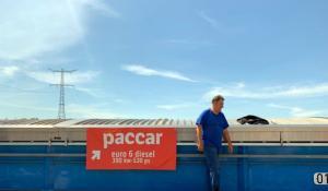 Visit to the CLINSH monitoring barge 'La Coruna'