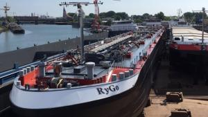 Shipping entrepreneur Frank Rycquart (MTS RyGo)